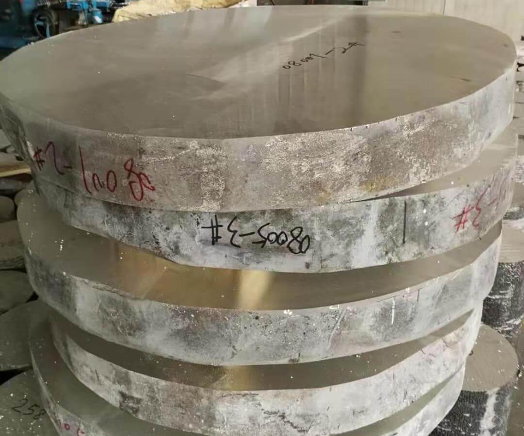 镁合金锻造圆饼